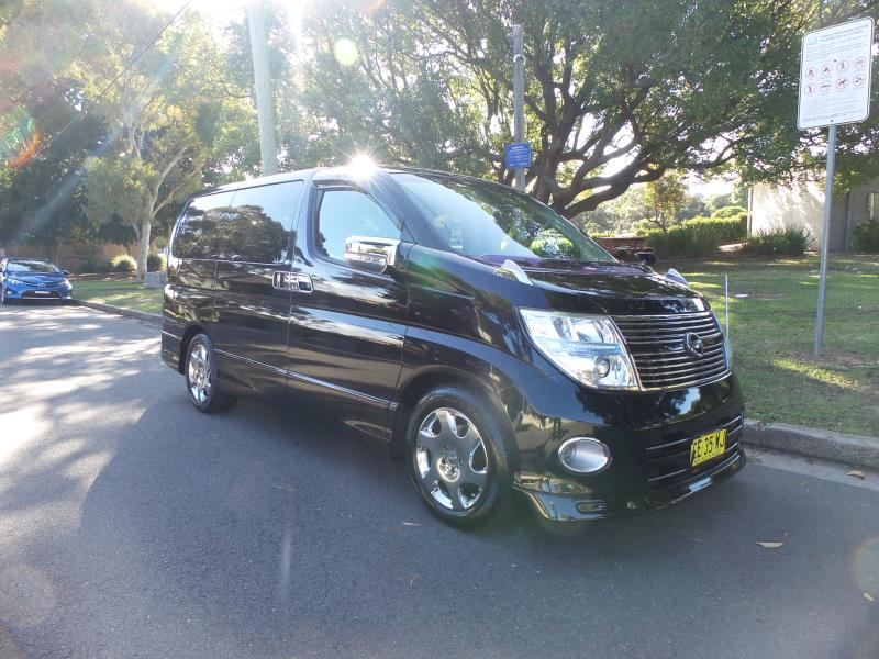 2008 Nissan Elgrand WAGON Highway Star SERIES III