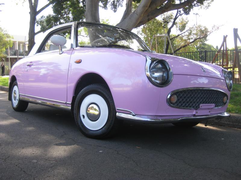 1991 Nissan Figaro COUPE Primrose Pink Pearl