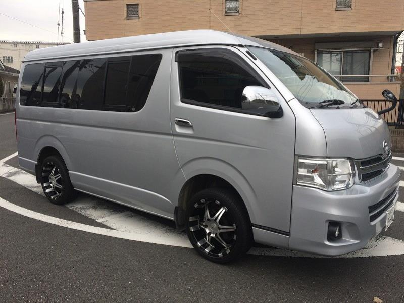 2012 Toyota Hiace WAGON GL 10 seater Low roof 4WD Long Wheel Base Wide B