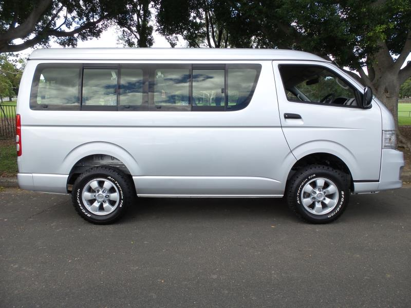 2012 Toyota Hiace WAGON 4WD 10 Seater Wide Body LWB Low Roof