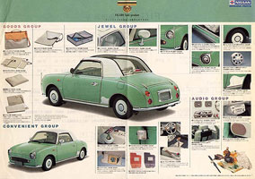 nissan figaro edward lees imports japanese cars and imported vehicles. Black Bedroom Furniture Sets. Home Design Ideas