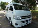 2011 Toyota Hiace Wheelchair Access X2 10 seater