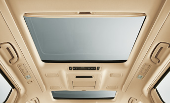 Dual Electric Moon Roofs with Built in Climate Control and Multimedia Player
